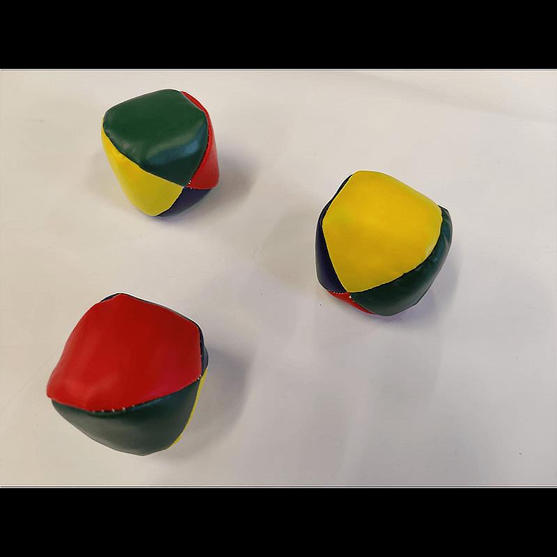 Multicoloured Juggling Balls