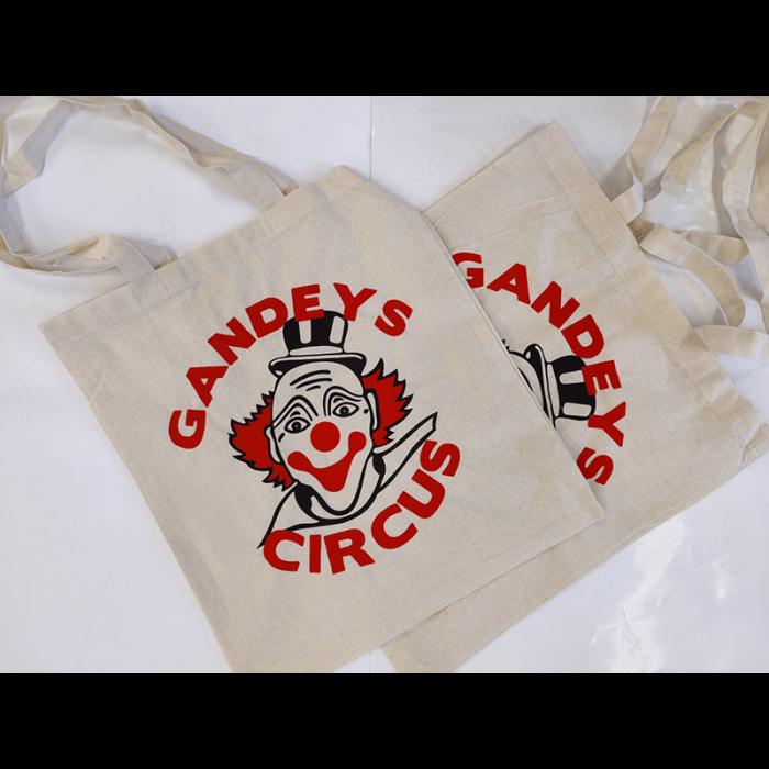 Gandeys Circus tote bag