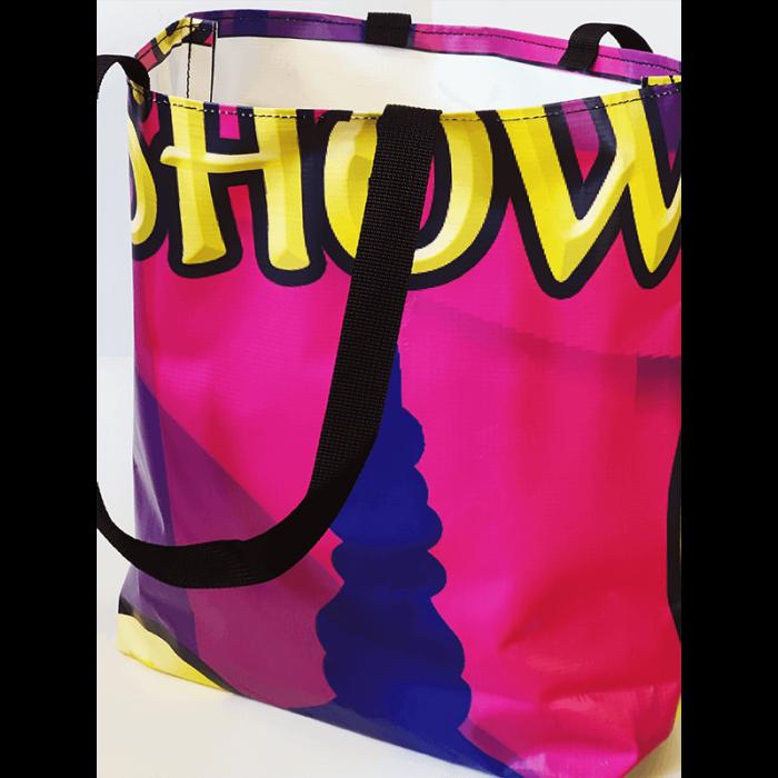 Gandeys Purple Shopping Bag